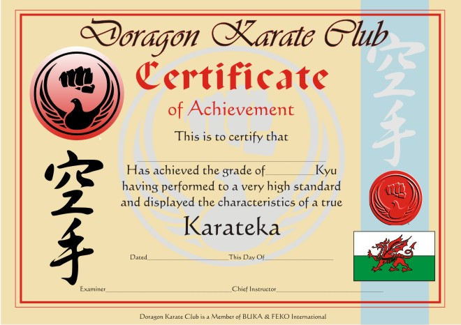 Products karate certificate yelopaper Images